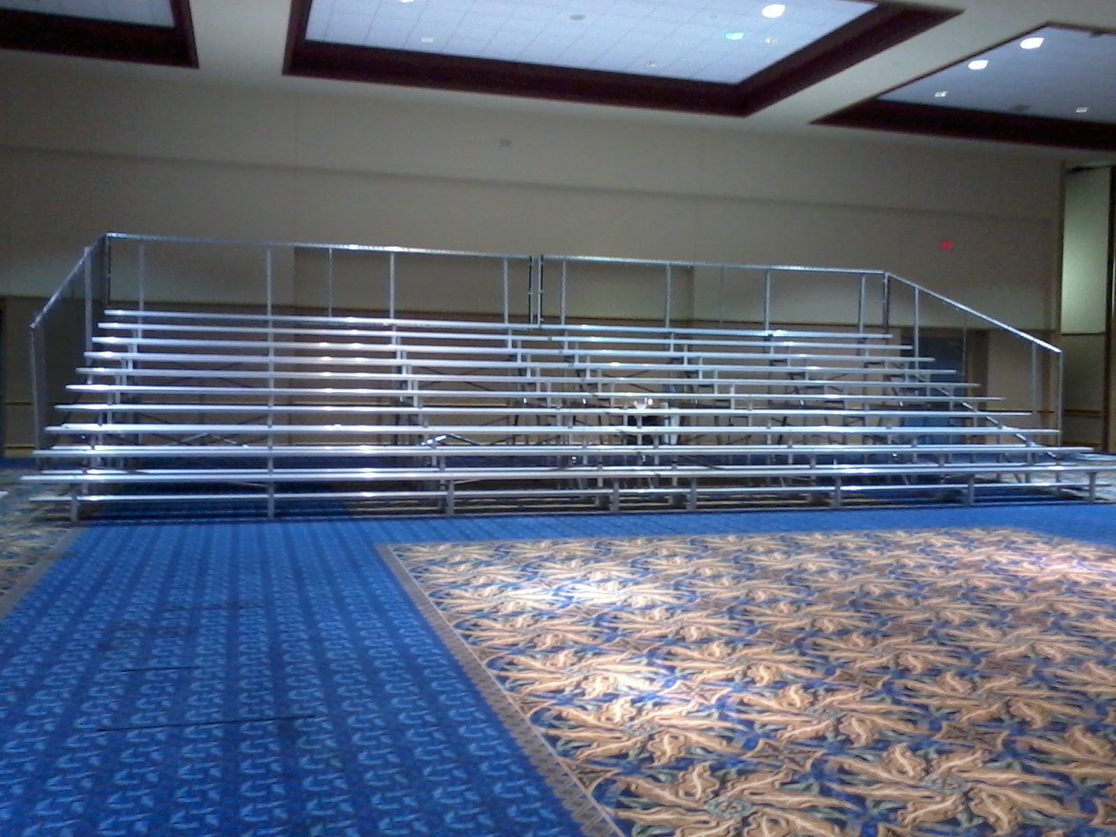 42' long 10row befor the event