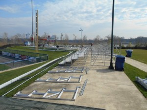 Installing-Rental-Bleachers