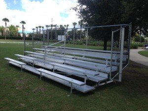 used aluminum bleacher for sale