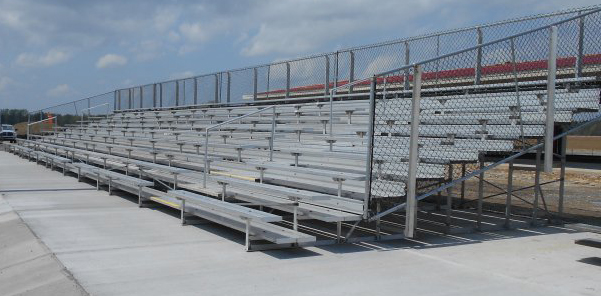 rent bleachers with rbi