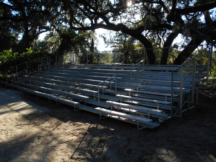 Long Term bleacher rental in Jacksonville Florida