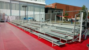 formal bleacher rental