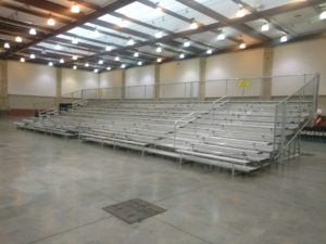 indoor 10row bleachers