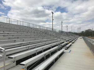 used metal bleachers (2)