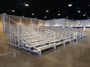 10 Row 63′ Bleacher Unit