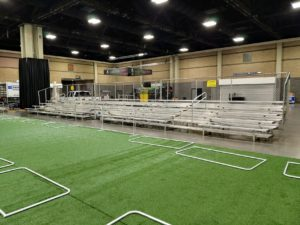 5rows for indoor event