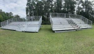 Side By Side Mobile Bleachers